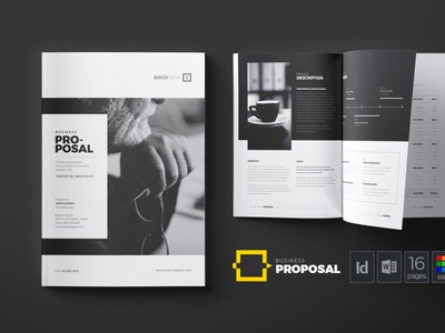 Business Proposal brochure indesign word design project proposal proposal template printable corporate business proposal