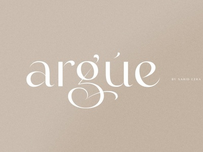 Stylish Display Font serif typeface modern ligature stylish display font