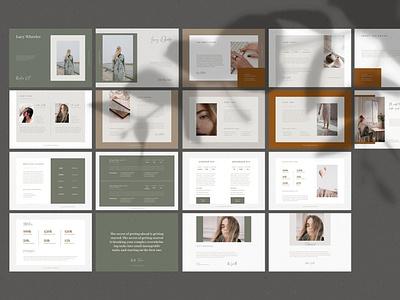 Press Media Kit brochure branding creative service guide pricing guide welcome kit media kit press kit
