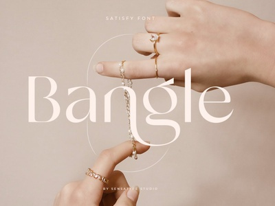 Modern stylistic sans serif luxury font logo type typeface serif display ligature sans serif modern