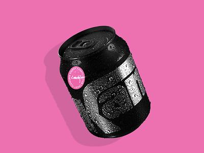 KAN custom e-soda service can energy drink fooddesign vector candesign drinkbranding logodesign logo design branding