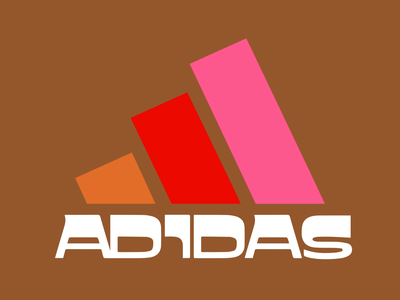 Retro Adidas vector typography drinkbranding candesign advertising campaign logodesign logo design branding illustration retroadidas adidas retro