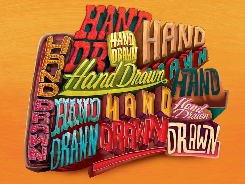 Hand Drawn / Commissioned by Print Magazine hand drawn digital illustration sign signage lettering typography