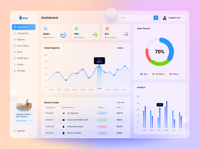 SaaS-Analytics Dashboard sales list admin dashboard branding customer list minimal design ux design web app sales analytics dashboard ui saas dashboard app dashboard design analytics app dashboard cards chart dashboard ui filter table