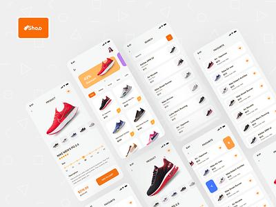 Shoe Selling App ecommerce app app design application ui ux mobile shoe shoes app shoes store shoe design nike addidas mobile app mobile ui ios ios app popular trending