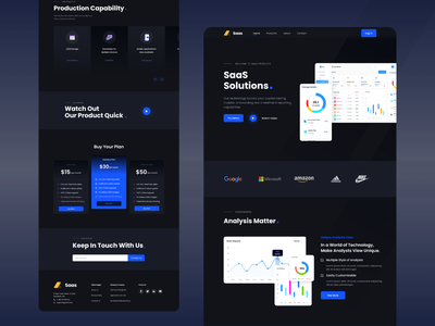 SaaS Landing Page hero area shopify interface web web design uiux illustration website design homepage hero footer header graphic design animation branding