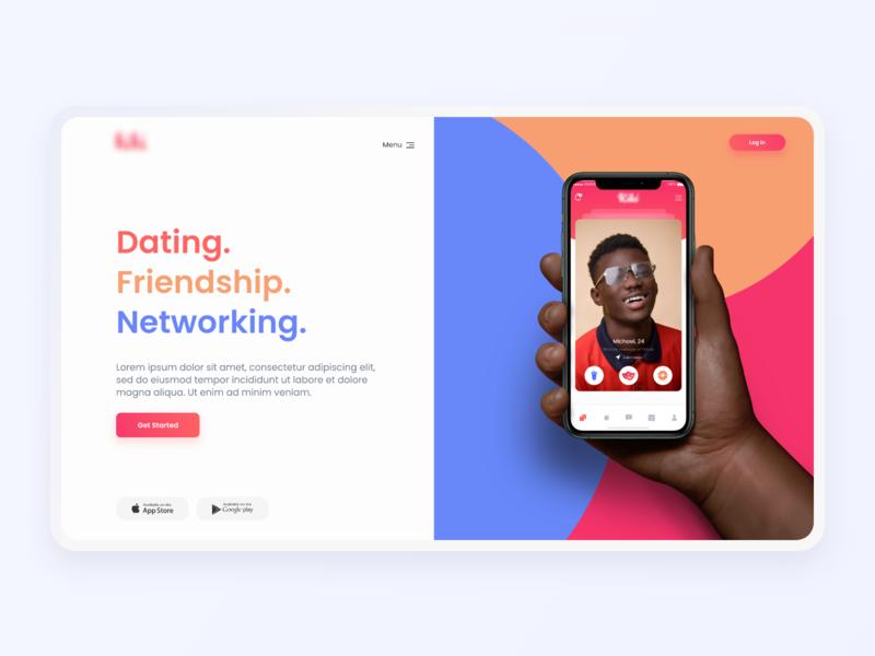 Social Landing Page Concept
