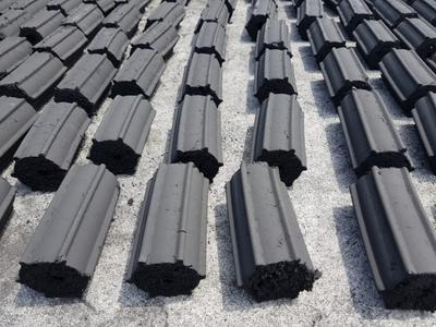 Charcoal briquettes, Pillow shaped