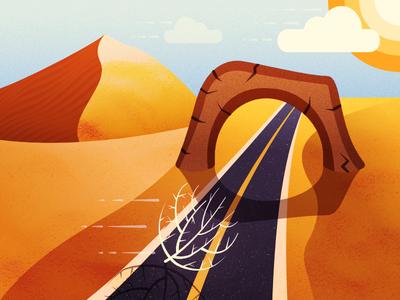 404 Page - Illustration Exploration