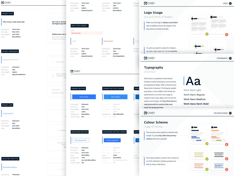 Design Guidelines specifications specs ia ux ui documentation guide style styleguide guidelines design