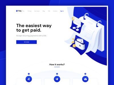 TillyPay - Landing Page