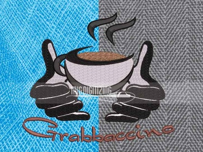 Grabbaccino Logo Digitizing Services | Migdigitizing digitizing logo services embroidery digitizer digitizing company embroidery digitizing company embroidery digitizing digitizing services logo services logo digitizing services digitizing logo digitizing logo digitizing
