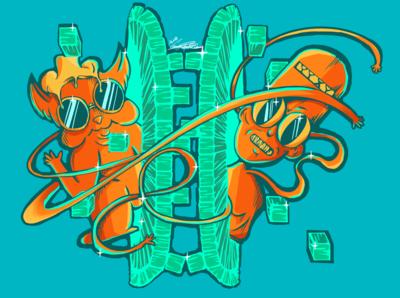Vibrant pixel portal guys, also HI dribble!!