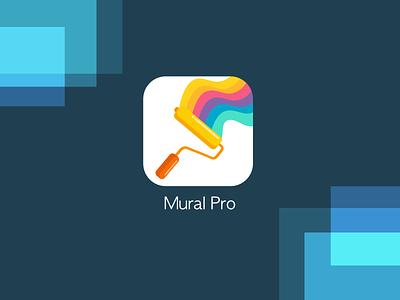 Daily UI 005 App Icon icon design appicon app paint color artist mural icon mural icon illustration dailyuichallenge concept dailyui beginner design