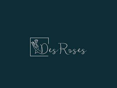 Des Roses design alphabetic logo service logo logodesign branding shop logo logo best logo logo designer logo design branding company logo business logo logo deisgn