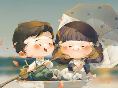 Boat boat xnhan00 chibi illustration children