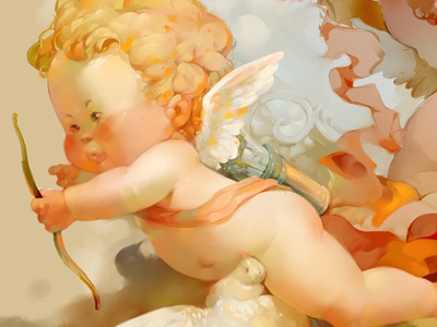 Cupid cupid xnhan00 illustration