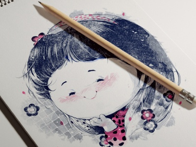 Con nhà thành phố illustrations story book sketch chibi