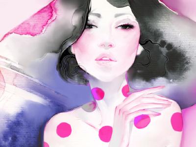 Bodyline bodyline xnhan00 illustration watercolor