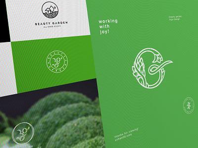 Beauty Garden xnhan00 logo branding beauty garden