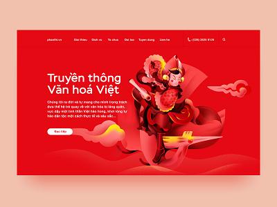 Vietnamese cultural communication xnhan00 vietnam red job illustration identity culture
