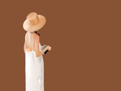L'Amant girl illustration book summer lady love xnhan00