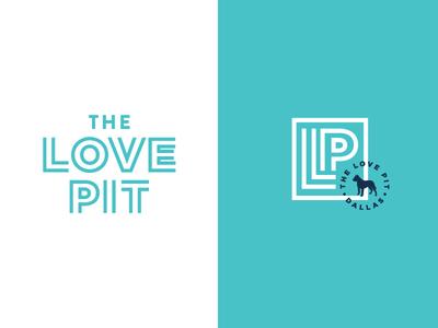 Logo Graveyard: TLP brand identity logo pit bull rescue dog
