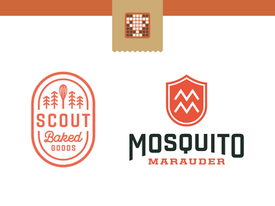 Logolounge Vol. 10 - Selections pest control baked goods contest selections book logo logolounge