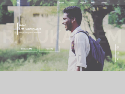 Portfolio my-pride website typography prototype animation adobexd branding web design ux ui