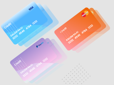 credit-cards typogaphy cards ui adobexd user interface design design uiux