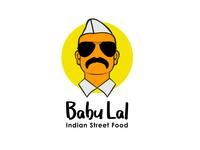 Babu Lal Flat Vector Logo Design