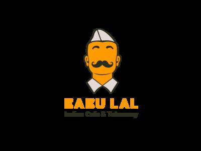 Babu Lal Flat Vector Logo Design v2
