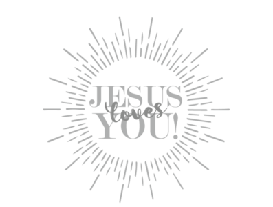 Jesus Loves You Merchandise
