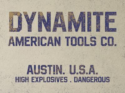 Vintage dynamite