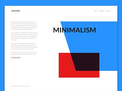 Homepage homepage clean website web minimalist minimal ux ui design