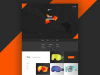 Nike Vision Redesign