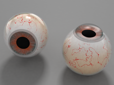 eye ball creative 3d 3d artist 3d art eyes cinema4d