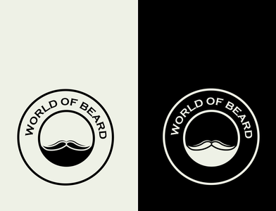 Beard concept logo logosai minimal minimalist bearded man beards logodesign logo design logos logo