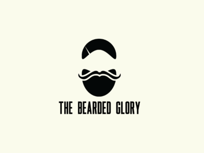 Beard logo concept logo logos minimalist design