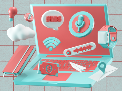 Icons c4dart c4d 3d artist 3d art 3d icon design icon set modeling render ux ui illustration website redshift cinema4d icon web branding design art