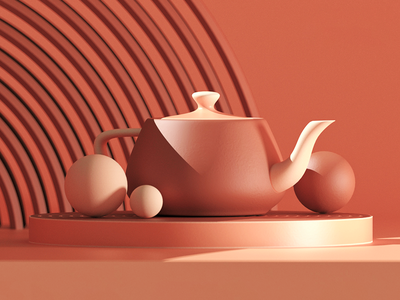 3D Composition render redshift c4d 3dscene 3dcomposition 3dmodeling 3ddesign 3dart ui logo cinema4d illustration icon web branding design art 3d