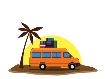 Tour And Travel Illustration Vector illustration vector art vector