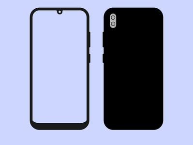 Phone Vector Stylish design vector