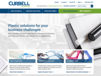 Curbell Plastics Home Page