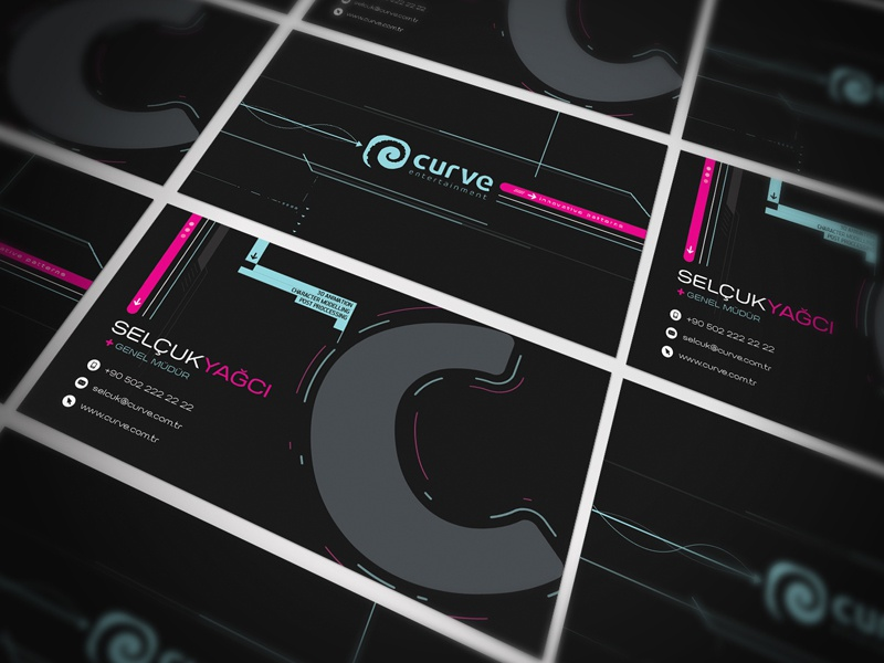 Futuristic Business Card Design By Metacortex Cerebral Artifacts