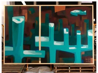 Seca do bacalhau - spray painting
