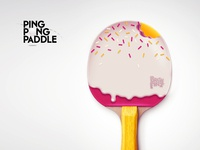 Ping Pong Paddle #01
