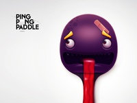 Ping Pong Paddle #02