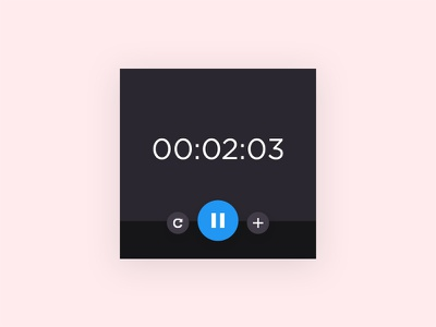 Daily UI #014 - Countdown Timer cute countdown timer time layout trend design minimal clean challenge ui daily