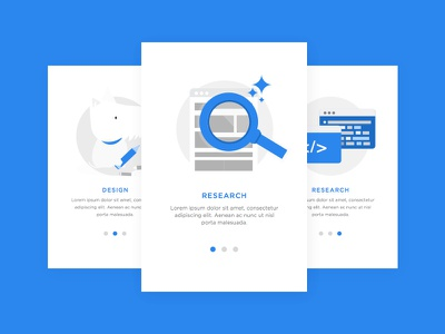 Daily UI #023 - Onboarding cute clean minimal illustration icon element card onboarding challenge ui daily
